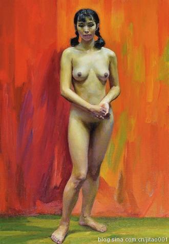 詹建俊《人体》 2014北京保利春拍成交于517.5万元
