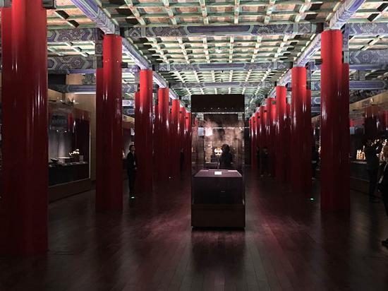 故宫展览现场