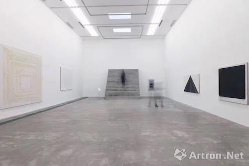 2017年3月17日开幕的香格纳画廊韩锋个展现场