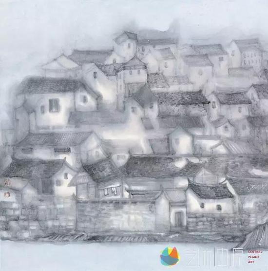 炫·彩系列之五68cm×68cm 2013年
