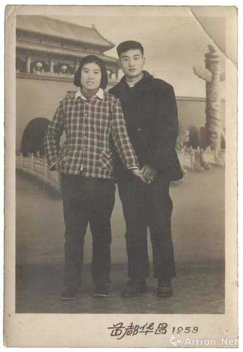 1959年,首都华昌照相馆,杨威收藏