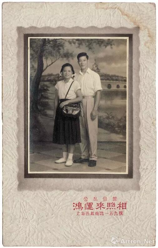 1950s,公私合营的上海鸿运来照相馆,杨威收藏