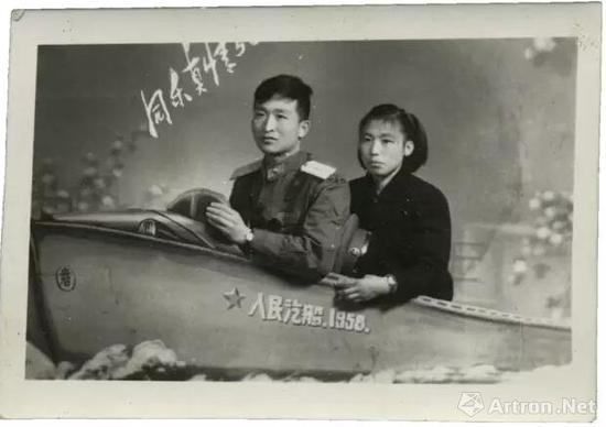 1958年,佚名照相馆,杨威收藏