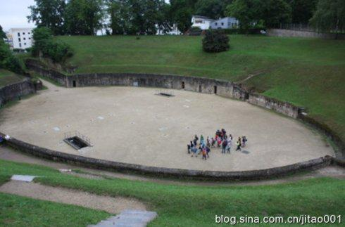 特里尔的古罗马圆形竞技场遗址