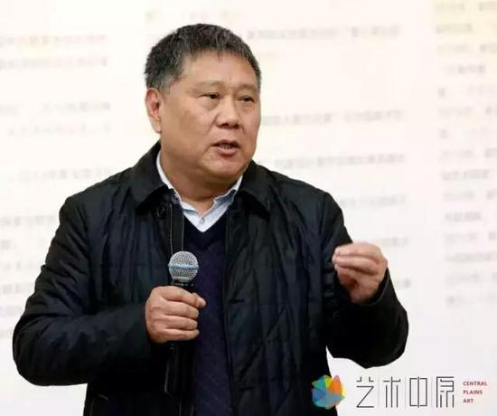 河南省文联顾问、中国国画研究会副会长 马国强致辞