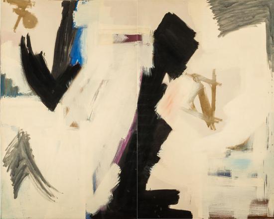 朱迪丝·哥德温,《史诗》(Epic,1959)。从华盛顿土特区国家女性艺术家博物馆租借而来。Caroline Rose Hunt赠品。    摄影:Lee Stalsworth。    图片:? Judith Godwin