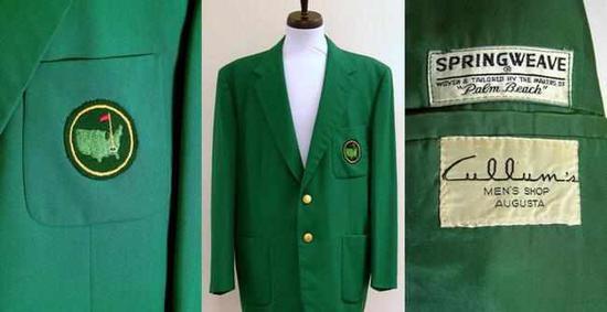 上世纪50年代的一件绿夹克正在拍卖