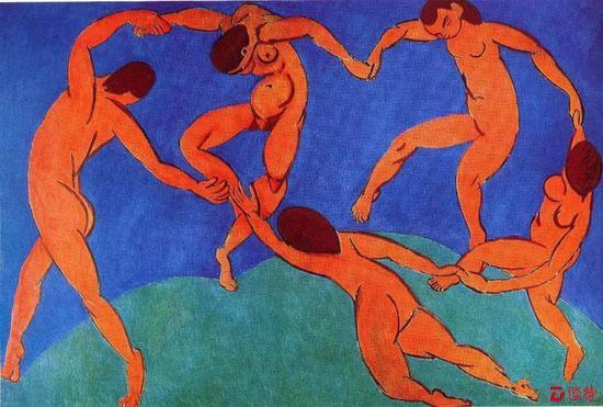 马蒂斯 《舞》纽约现代艺术博物馆藏