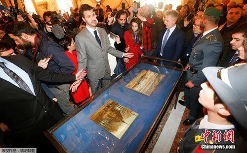 资料图:失窃14年终回归 两幅梵高作品在意大利展出