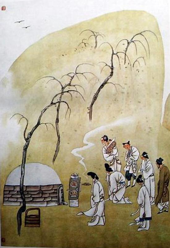 寒食祭墓资料图