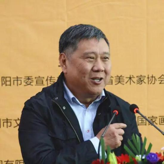 中国画学会副会长、中国国家画院研究员马国强致辞