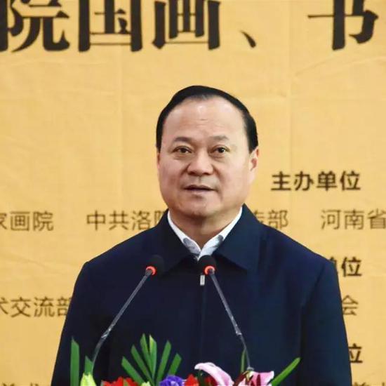 中共洛阳市委常委、宣传部部长杨炳旭致辞