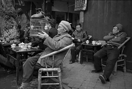鸟语 成都 1990年 陈锦/摄