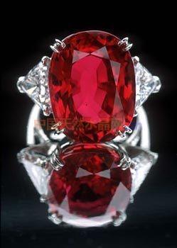 在西方红宝石被认为会带来旺盛的精力
