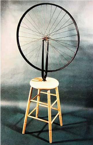 杜尚自行车轮1913年