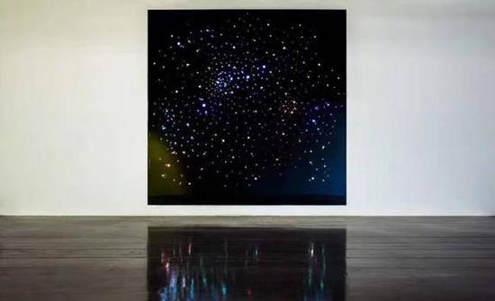 《暗涌 》360x360cm 2017