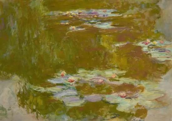 《睡莲池》,莫奈,估价1400万——1800万美金