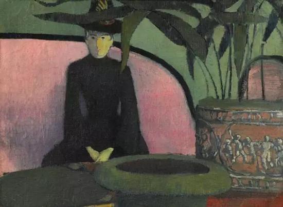《粉红沙发上的女子》,贝尔纳. 埃米尔,估价30万——50万美金