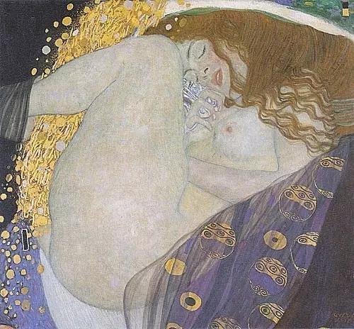 《达娜厄》,克林姆特,1907 - 08