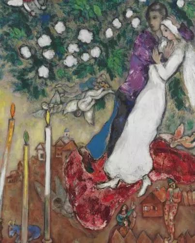 《Les trois cierges》,夏加尔,800——1200万美金