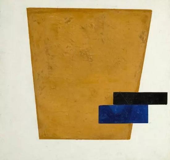 《至上主义构图与平面投射》,马列维奇,估价1200万——1800万美金