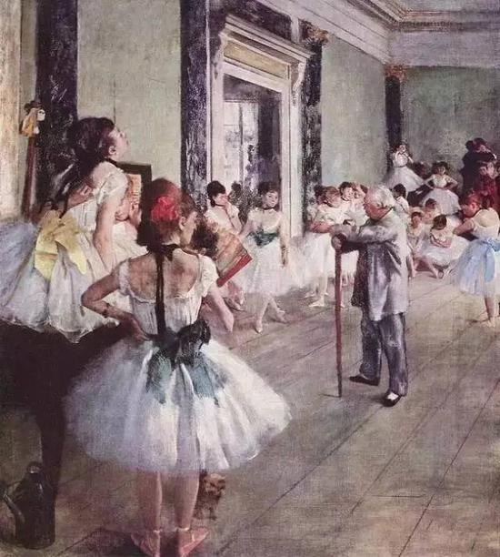 △《舞蹈课》,1873-1875