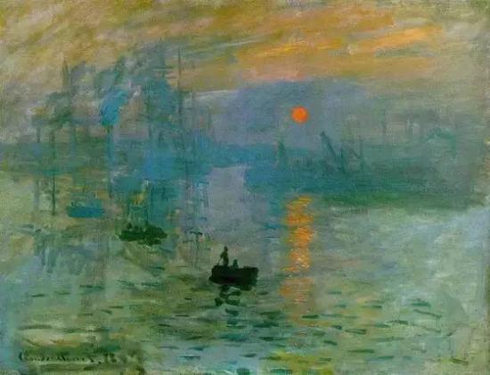 △《印象・日出》,1872