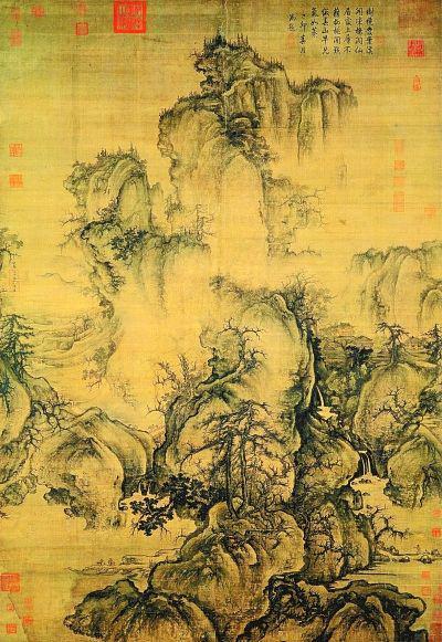 早春图(中国画) 郭 熙(北宋)