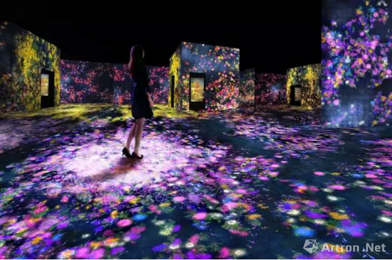Flower Forest, Lost and Immersed