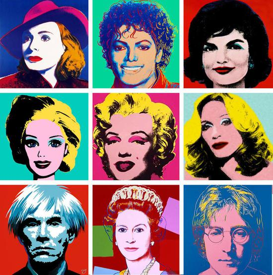 for Foto effetto andy warhol