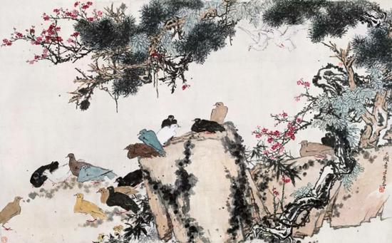 """中国绘画""""基因""""的坚持"""