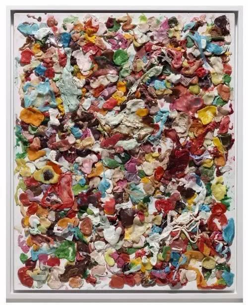 丹·柯伦(Dan Colen),《无题》(Untitled,2008)