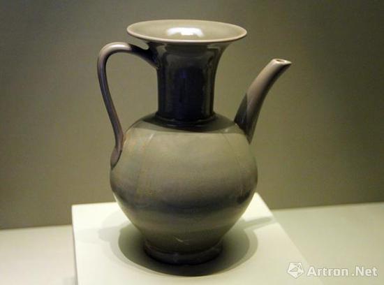 后司岙窑址出土的(五代)越窑秘色瓷执壶