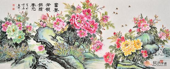 谁的牡丹画最具收藏价值?