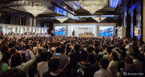 北京保利2017年春拍中国书画之夜