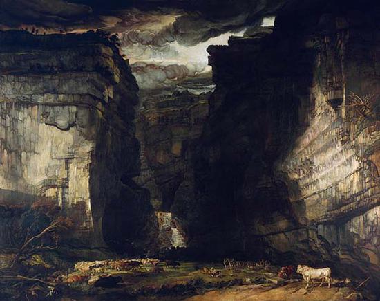 詹姆斯·沃德,戈德尔疤痕,1815