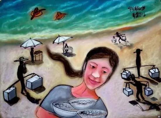 海滩上的梦