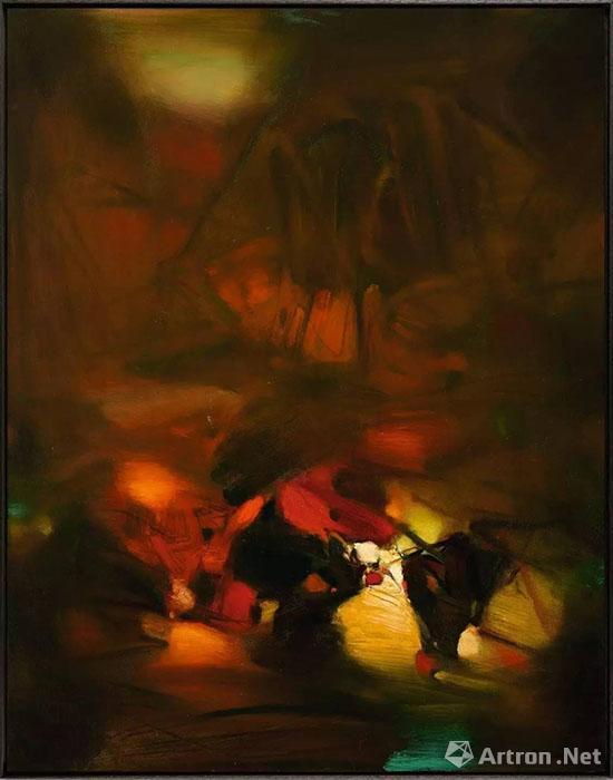 首现拍场的朱德群作品亮相巴黎苏富比当代艺术拍卖