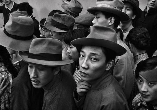 上海拍摄电影《廖仲恺》 场景·1982年