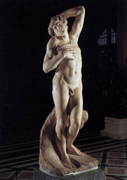 米开朗基罗 Michelangelo - 垂死的奴隶