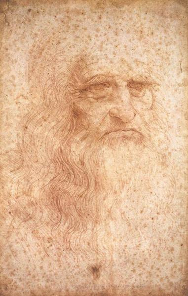 达·芬奇 Da Vinci - Self-Portrait
