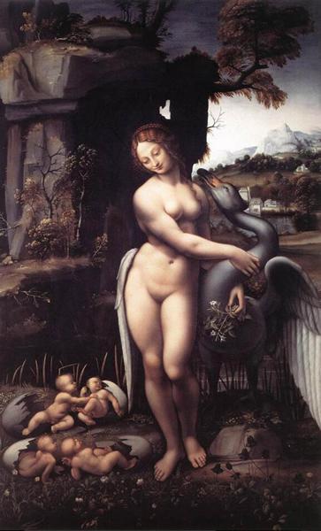 达·芬奇 Da Vinci - Leda 丽达