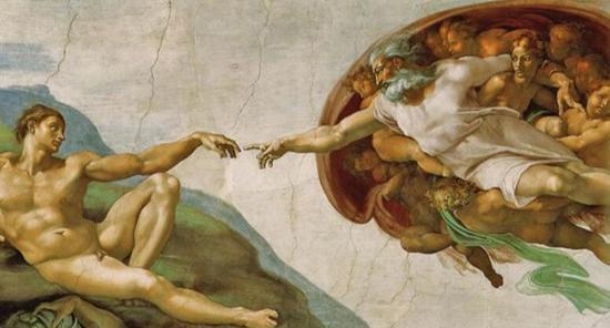 米开朗基罗 Michelangelo - 创造亚当
