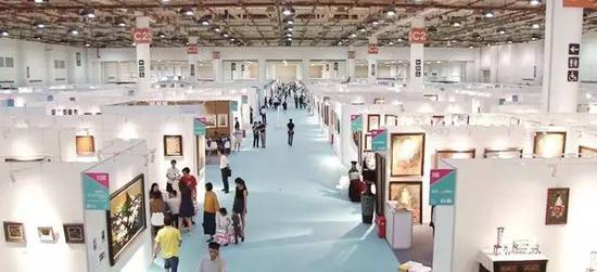 2017艺术厦门展览现场