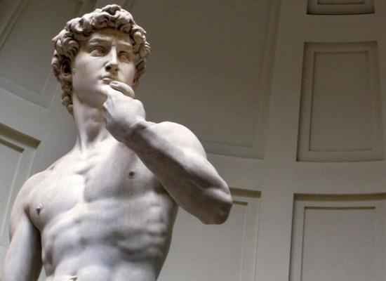 米开朗基罗 Michelangelo - 大卫David(局部)
