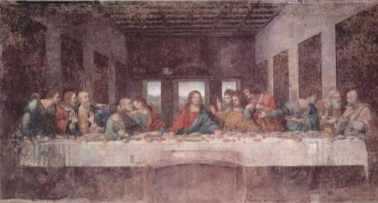 达·芬奇 Da Vinci - The Last Supper 最后的晚餐