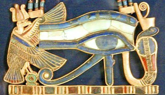 古代埃及艺术品上的荷鲁斯之眼