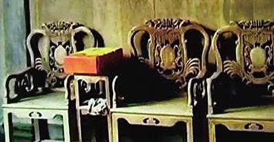 被盗走的祖传花梨木家具(照片由失主提供)