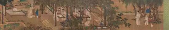 606  佚?名(明)?十八学士图    设色绢本?手卷    款识:嘉定二年春刘松年绘。    钤印:罗伦私印、王鏊、东阳郝氏收藏书画印吴廷之印、用卯氏、其恒宝玩、吴弈、王首守之印    引首:(文略)宝庆元年仲春上浣,浦城真德秀并书。钤印:德秀、焦林    题跋:1、国子祭酒许衡拜手题。钤印:许衡之印    2、延佑二年秋日,蒙城田衍奉题。钤印:田衍私印、吾本江上渔翁    3、渔阳困学鲜于枢。钤印:困学斋作    4、侍书蒋廷晖同雍溪凌晏如观于木天清署。蒋廷晖印、寿珠堂印    收藏印:方氏世宝、宜田曾观、江氏家藏世宝、方观承、观承集古    说明:后附太原王守,五湖居士陆师道,延陵吴奕等鉴定跋。    注:方承观旧藏。    藏者介绍:方承观(1698—1768),字遐谷,号问亭,安徽桐城人。历任直隶清河道台,直隶总督,谥恪敏,入祀贤良祠。著有《述本堂诗集》、《御题棉花图》、《问亭集》。    54×567cm?约27.6平尺    RMB: 800,000-1,200,000