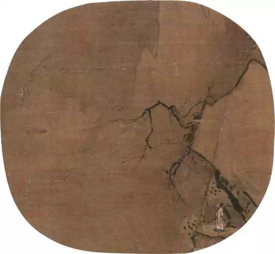 575  佚?名(金·元)?仙女祝寿图    设色绢本?立轴    124.5×79cm?约8.9平尺    RMB: 200,000-300,000